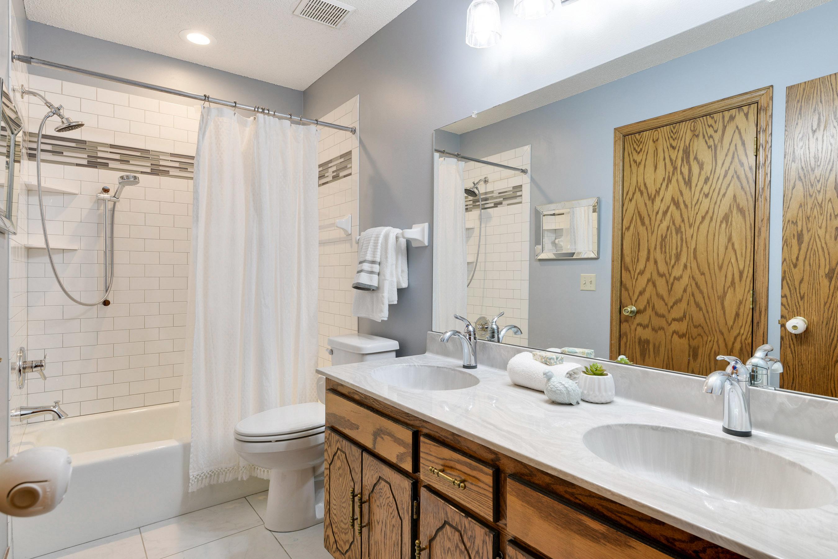 Master Bathroom updated