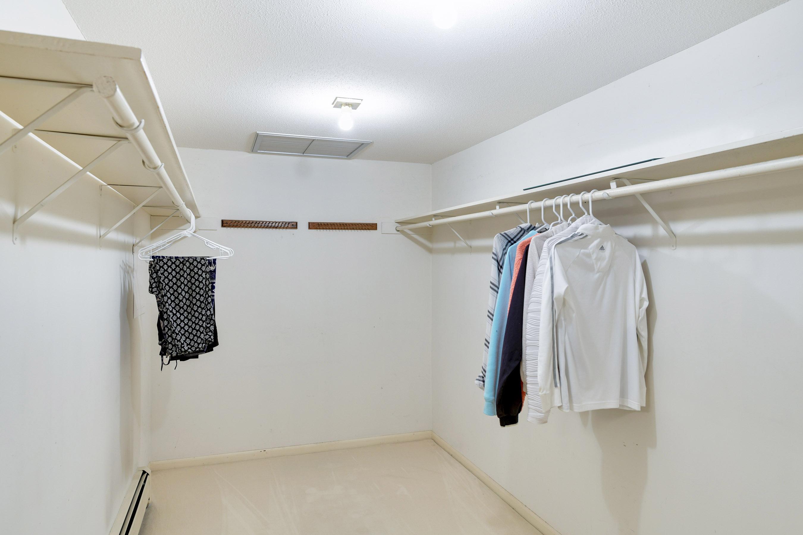 Huge master closet