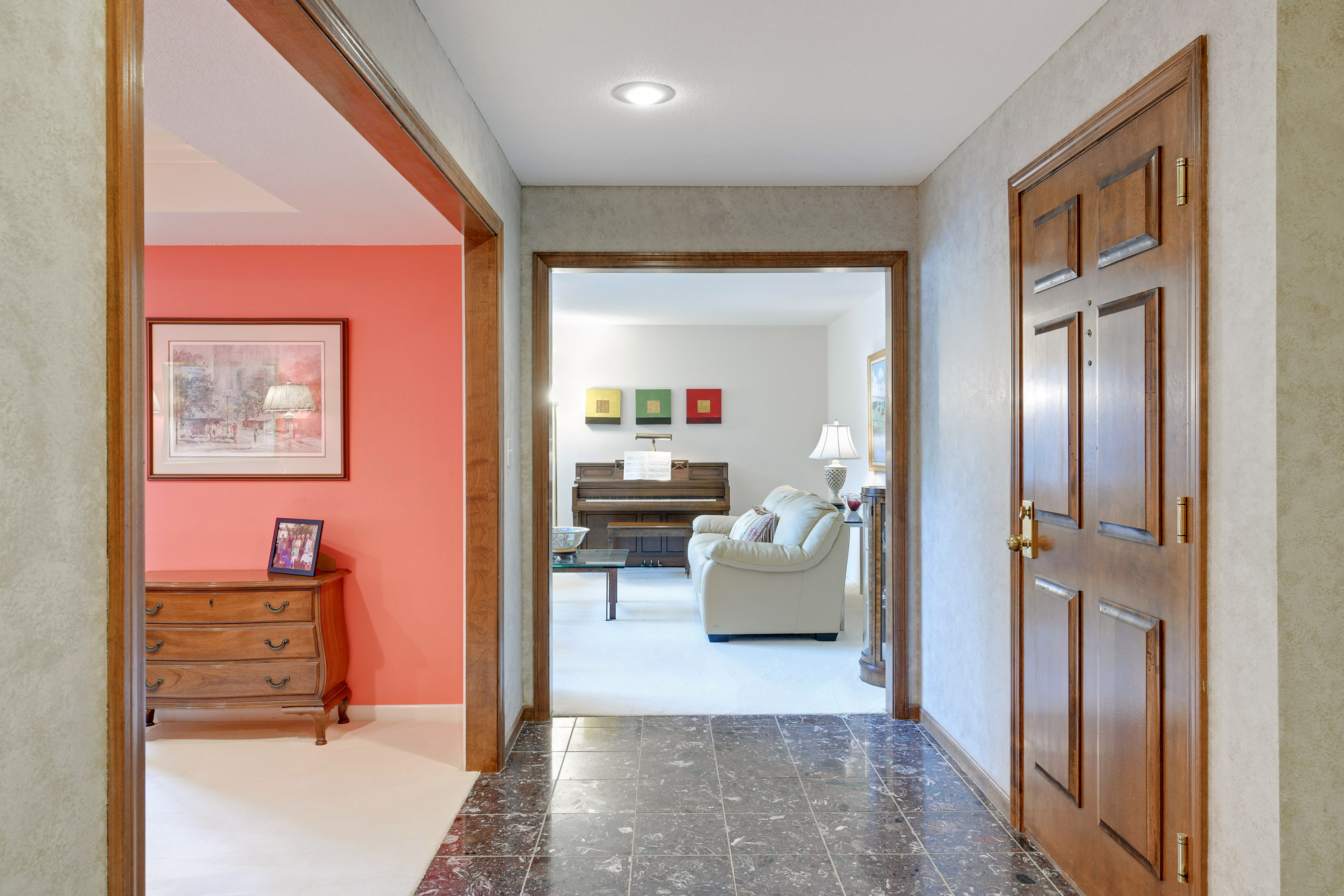 Large foyer from the main front door